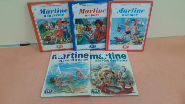 Livres Martine