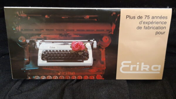 Machine à écrire Erika