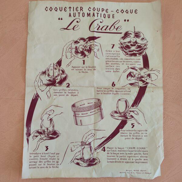 Coupe coque notice